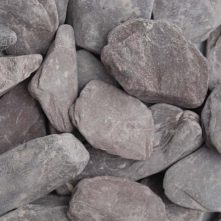 Plum Slate Paddlestones 50-100mm Dry