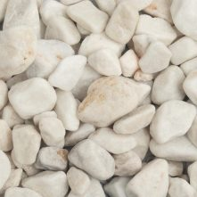 White Pebbles Wet