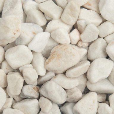 White Pebbles Wet