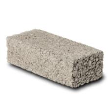 dense concrete brick
